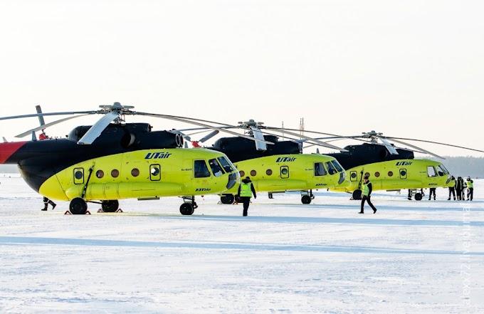 Вертолеты «Ютэйр» эвакуировали более 4000 экстренных больных в 2020 году