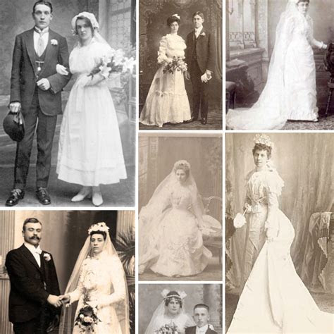 Wedding Dresses Through The Ages   Weddings By Lilly
