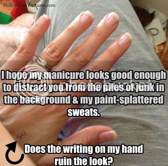 Robyn Welling @RobynHTV manicure