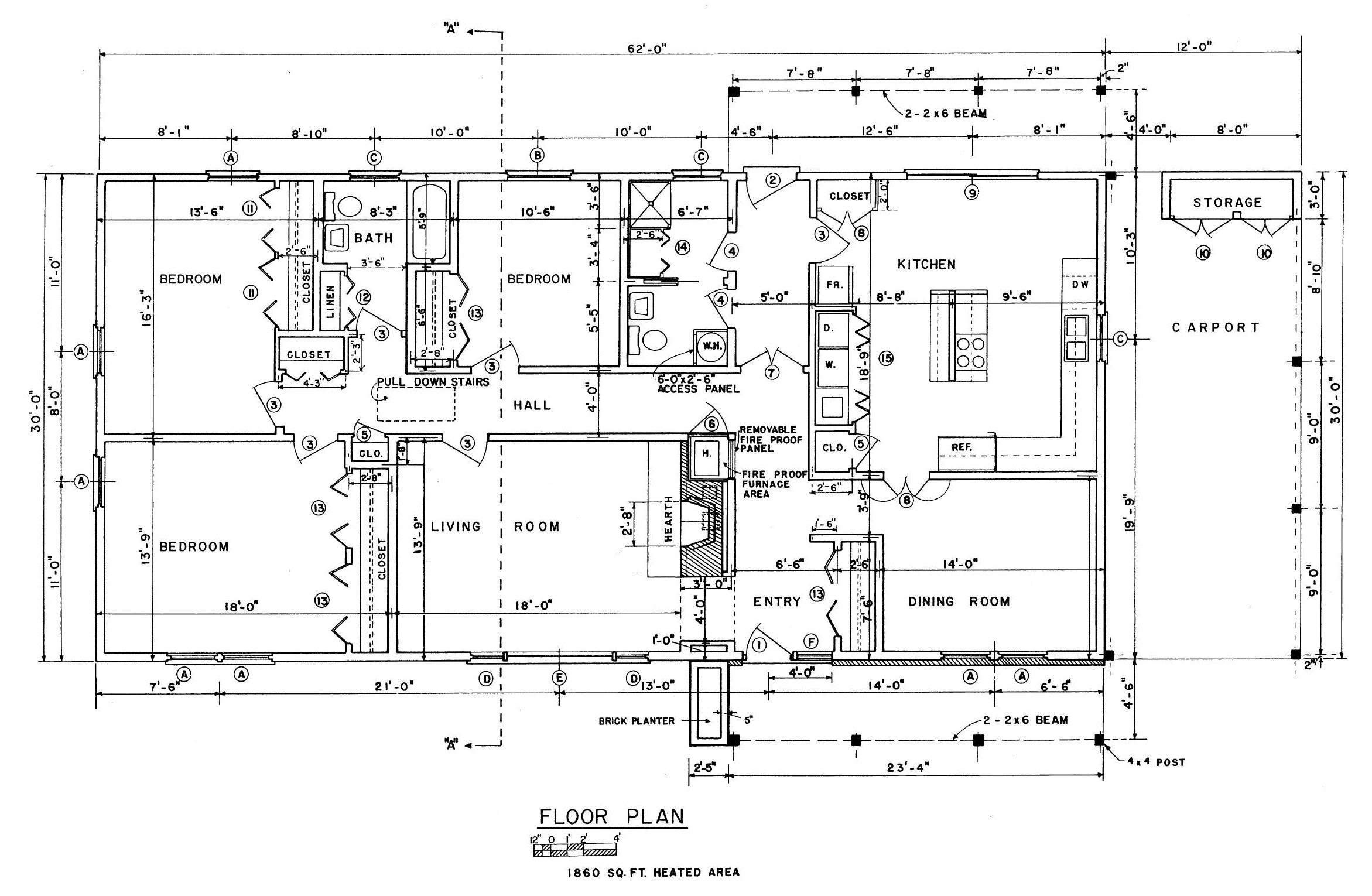 Free Ranch House Floor Plans Ranch Style House house