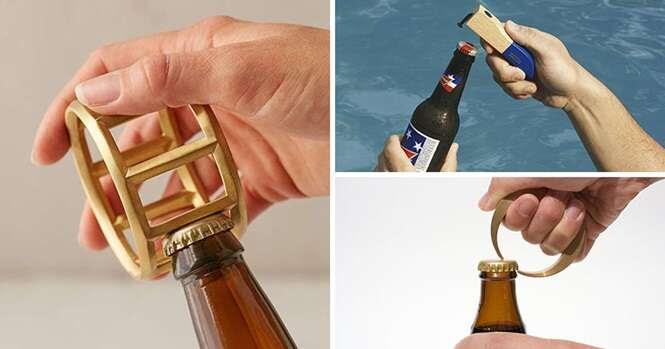 Abridores de garrafas únicos