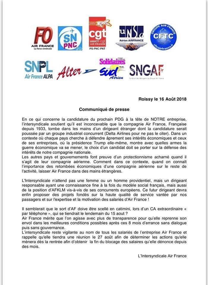 Air France bradé aux intérêts étrangers