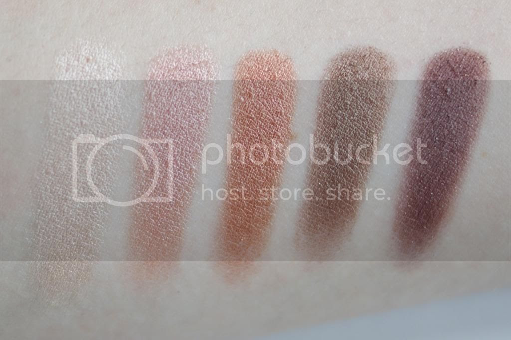 Love & Beauty Forever 21 Sun Kissed Eye Palette Review Swatches