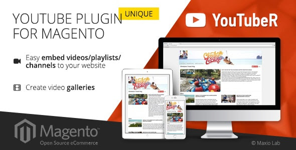 YouTubeR v2.0.4 - unique YouTube video gallery for Magento