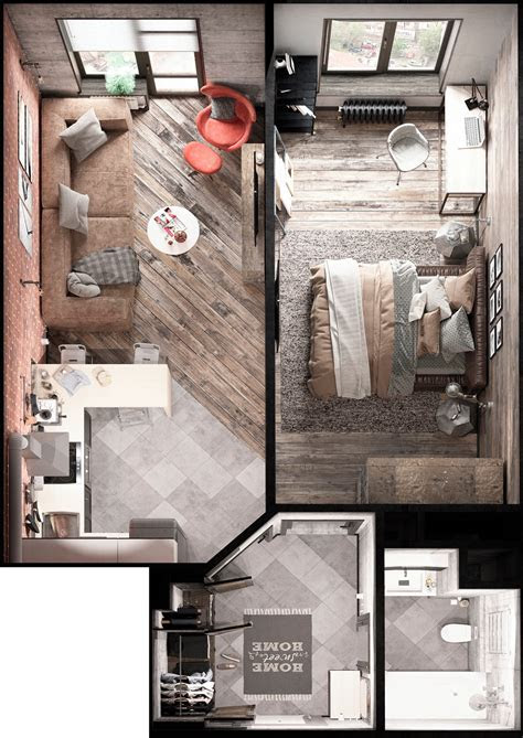 bold decor  small spaces  homes   square meters