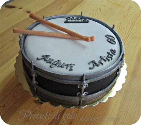 60th birthday cake for a drums lover   Cake ideas