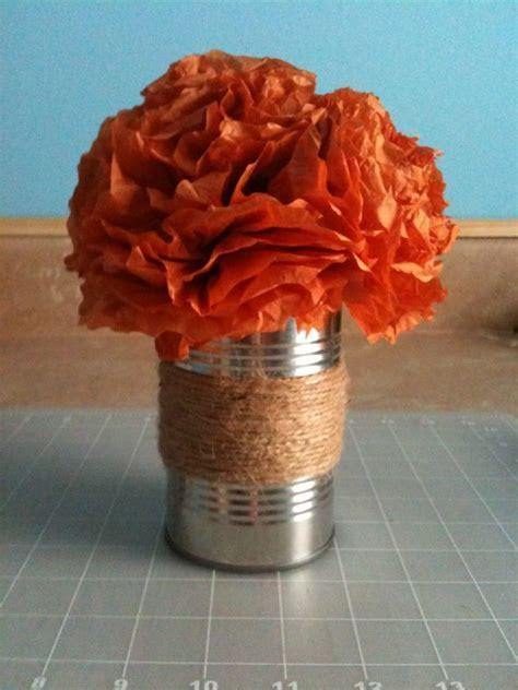 25  unique Tin can centerpieces ideas on Pinterest