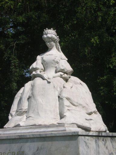 Ligeti Miklós: Elisabeth of Austria-Hungary, Szeged, Hungary