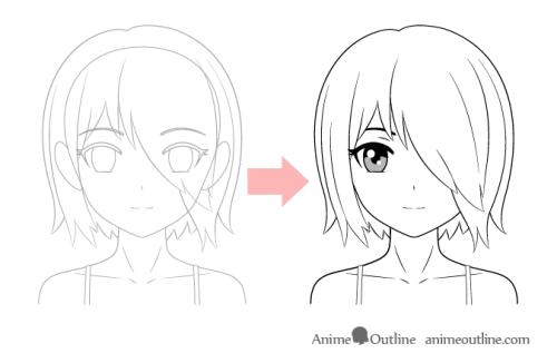 30 Gambar Anime Keren Pensil Mudah Arti Gambar