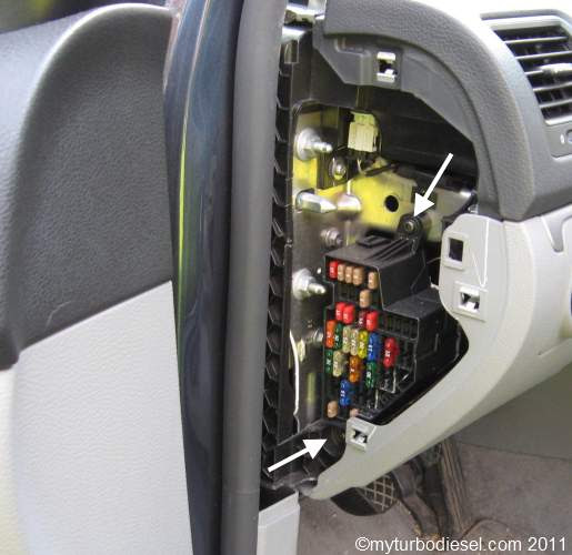 2011 Volkswagen Jetta Tdi Fuse Diagram
