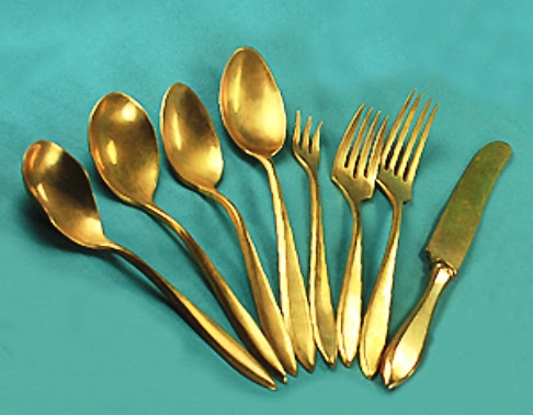 Unloved Antiques: 'Bronze' Flatware | WorthPoint