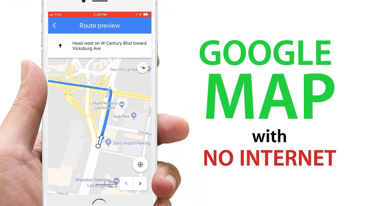 Use Google Map Without Internet Youtube