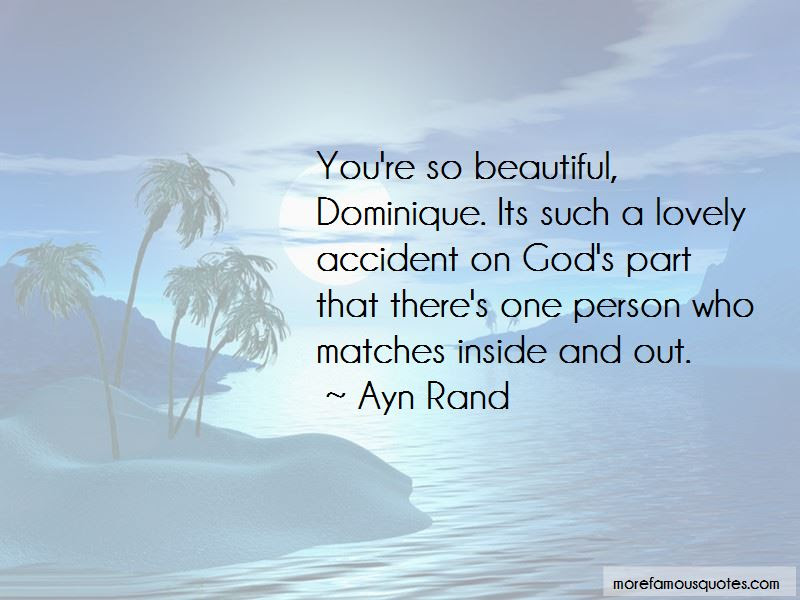 Beautiful Person Inside Out Quotes Top 7 Quotes About Beautiful