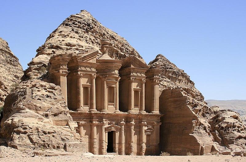 File:The Monastery, Petra, Jordan8.jpg