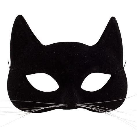 Black Cat Mask 6 1/2in x 4 3/4in   Party City Canada