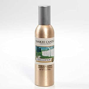 Amazon.com: Yankee Candle Clean Cotton Concentrated Room ...