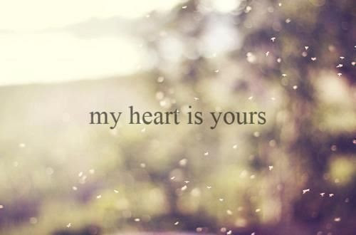 My Heart And Yours Quotes