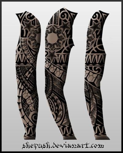 Sleeve Tattoos on Free Design Tattoo  Sleeve Tattoo Designs