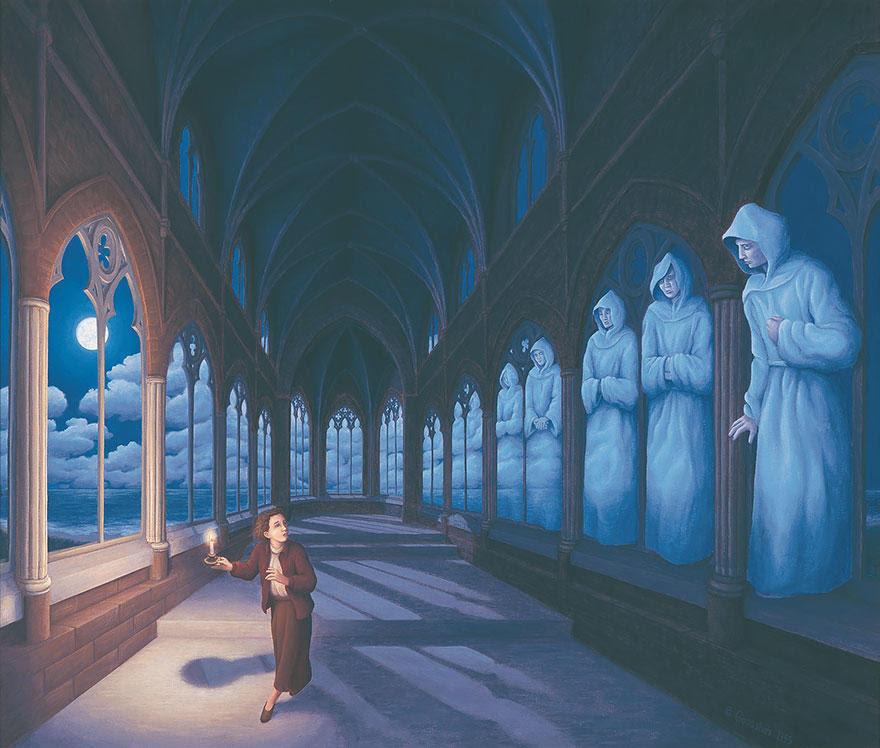 diaforetiko.gr : magic realism paintings rob gonsalves 8 880 33 Πίνακες Ζωγραφικής με οπτικές ψευδαισθήσεις που παίζουν με το μυαλό σου.