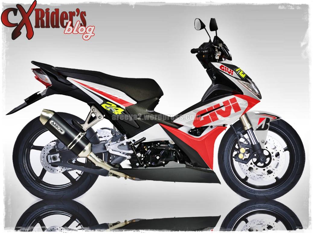 Koleksi Foto Modif Motor Honda Blade Terbaru Gubuk Modifikasi