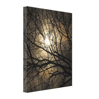 Mystical Moon wrappedcanvas