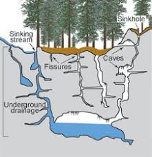 1: The features of a karst