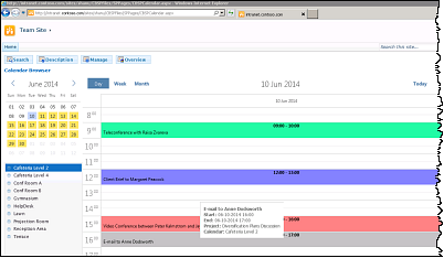 Calendar Browser for SharePoint