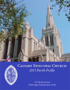 Cover of Calvary Church parish profile