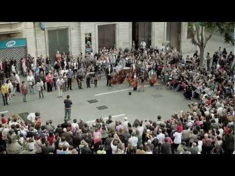 Vallès Senfoni Orkestrası - Som Sabadell flashmob