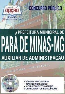 postila  AUXILIAR DE ADMINISTRAÇÃO para de minas