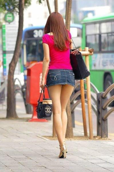 Соблазнительные девушки, которых можно встретить на улице (34 фото)