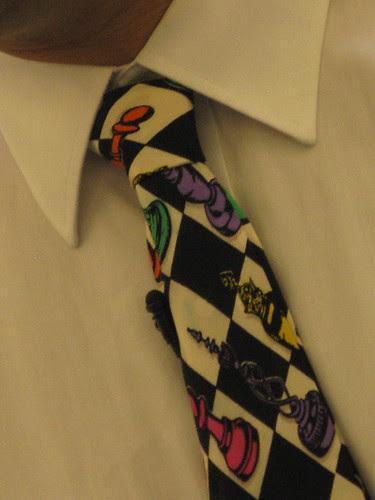 Evan's tie