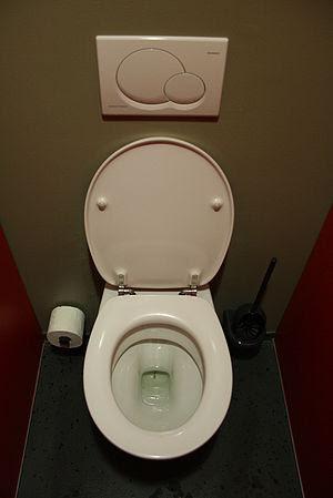 Toilet in german theater munich