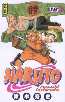 Couverture Naruto, tome 18