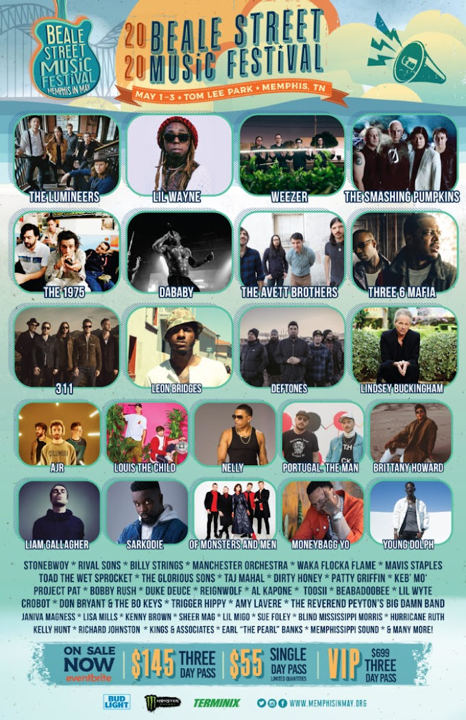 Weezer, Smashing Pumpkins, The 1975 and More Added to Beale Street Music Festival Lineup