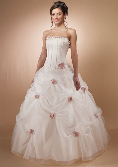 Gorgeous Wedding Dress: Gorgeous Pink Wedding Dress