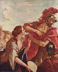 The Return of Jephtha, by Giovanni Antonio Pel...