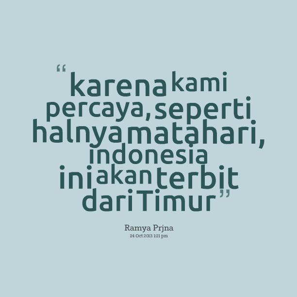 Indonesian Best Quotes. QuotesGram
