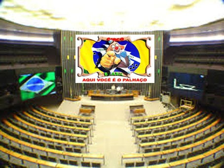 Votação na Cmara dos Deputados sobre impeachment o grande circo e seus palhaos