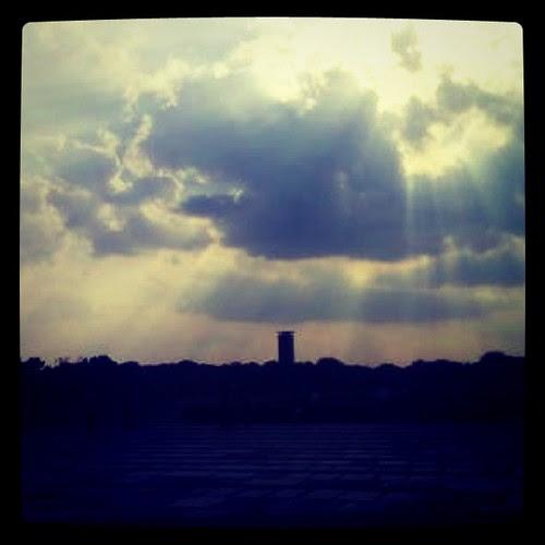 Sky. Sun break thru. by Erixsson