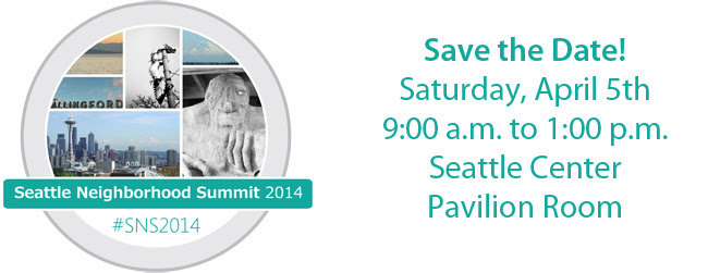 Seattle Neighborhood Summit 2014
