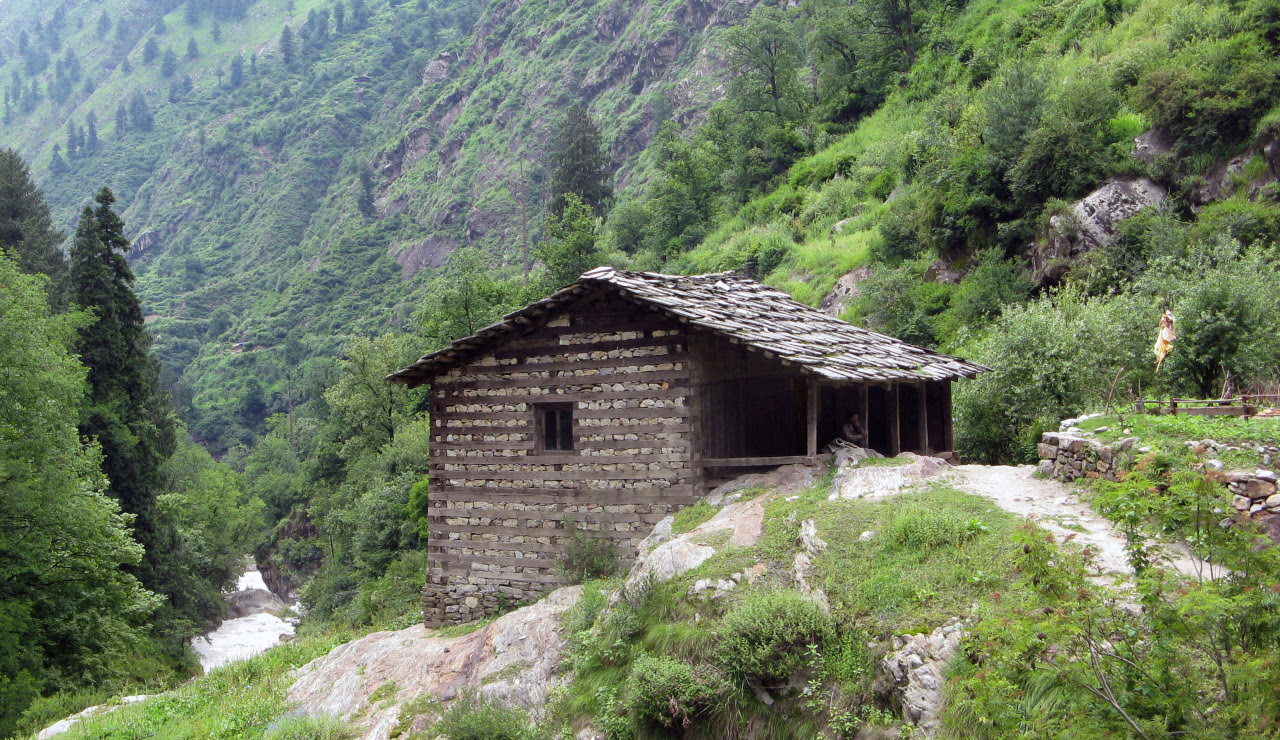 House in Parvati Valley, Himachal Pradesh, Northern India Submitted by Toby Pear