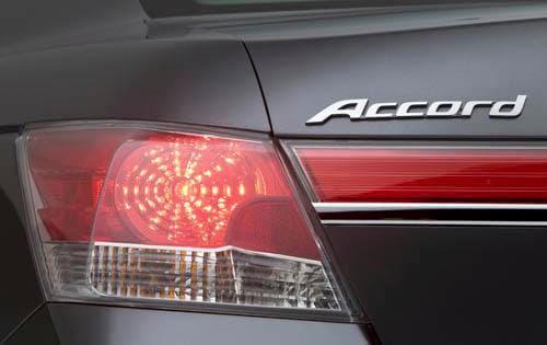 2011 Honda Accord Rear Badging
