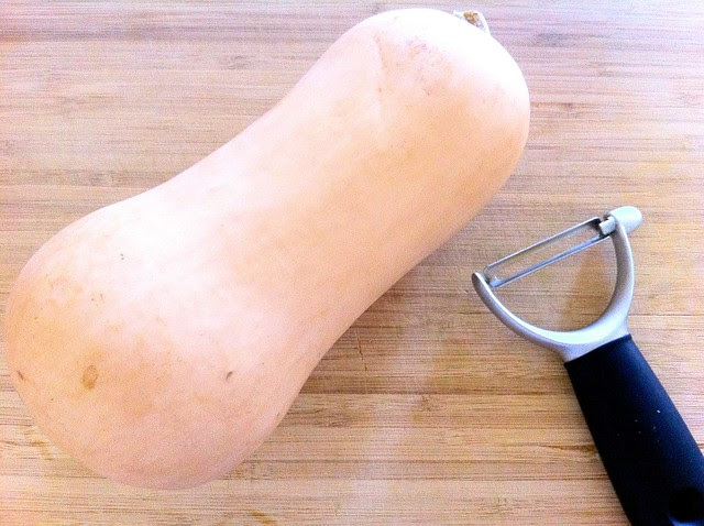 Small Butternut Squash with Peeler