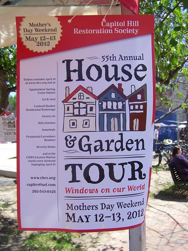 Capitol Hill House & Garden Tour poster