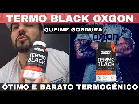 TERMO BLACK OXGON UM TERMOGÊNICO MUITO BOM E MUITO BARATO PARA QUEIMAR GORDURA INDESEJADA