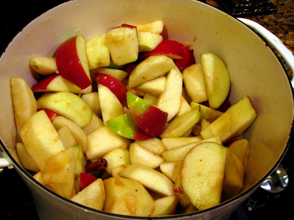 Apple Sauce - before cooking
