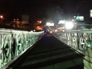 Conavi cierra puente bailey utilizado para paso de peatones en Circunvalación