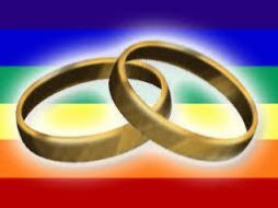 rainbow wedding rings