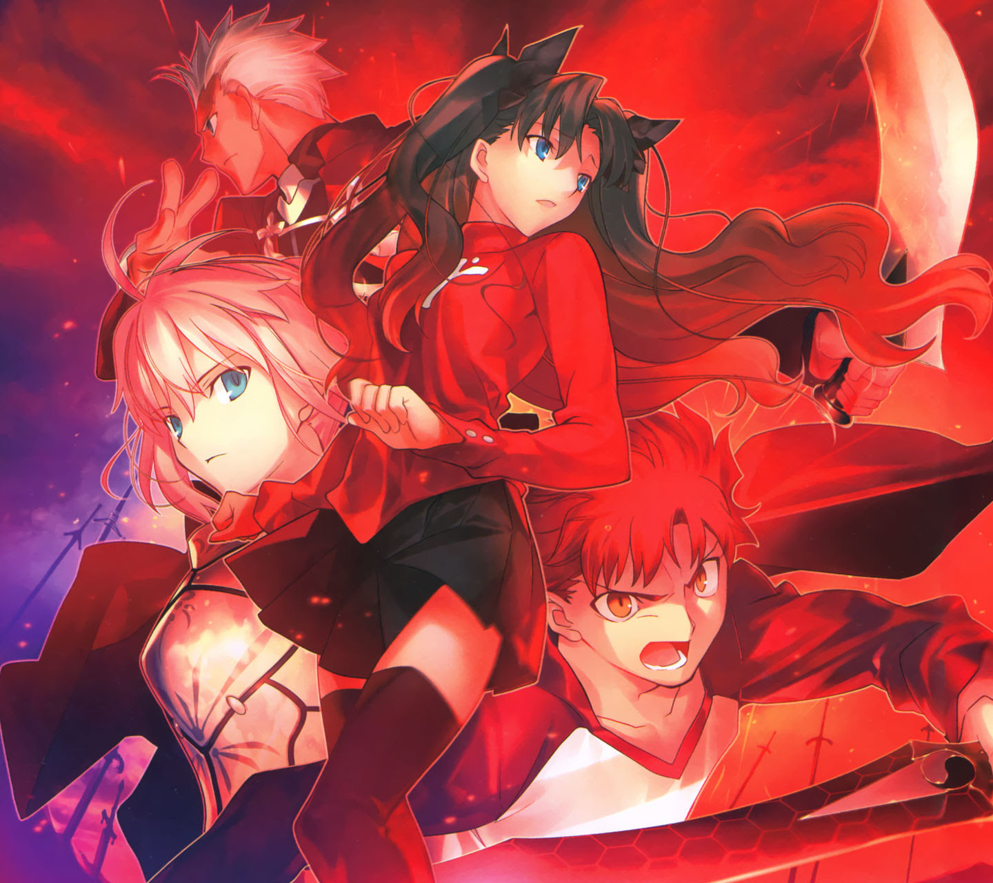 Fate Stay Night Android壁紙 画像 6 1440 1280 アニメ壁紙